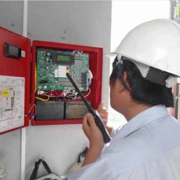 Các bước trong quy trình bảo trì hệ thống báo cháy