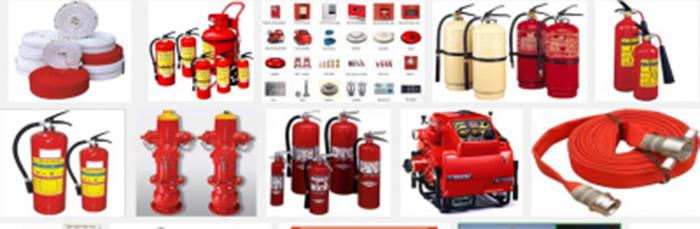 Danh mục thiết bị phòng cháy chữa cháy gồm những gì?